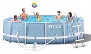 Каркасный круглый бассейн Intex 26736, 457х122 см
