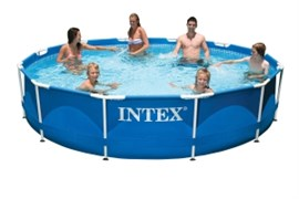 Каркасный круглый бассейн Intex 28210 | 56994, 366х76 см