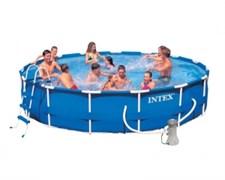 Каркасный круглый бассейн Intex 28232 | 54942, 457х91 см
