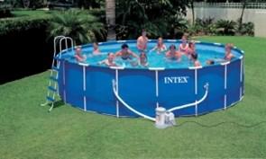 Каркасный круглый бассейн Intex 28252 | 54952, 549х122 см