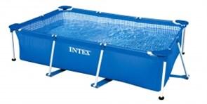 Каркасный прямоугольный бассейн Intex 28270 | 58983, 220х150х60 см