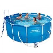 Каркасный круглый бассейн Bestway 56420 | 56088, 366х122 см