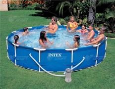 Бассейн Intex арт.28212 Metal Frame 366х76см