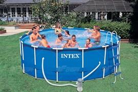 Бассейн Intex арт.28240 Metal Frame 457х84см