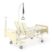Кровать электрическая Med-Mos DB-7 (МЕ-2028Д-00) (2 функции) светлое дерево
