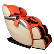 Массажное кресло Futuro (оранжево-бежевое)