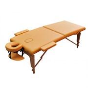 Массажный стол ZENET ZET-1042/M желтый