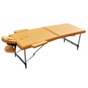 Массажный стол ZENET ZET-1044/M желтый