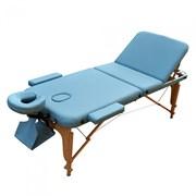 Массажный стол ZENET ZET-1047/L голубой