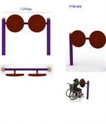 """Тренажер для инвалидов-колясочников """"Подсолнухи"""""""