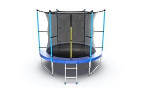 EVO JUMP Internal 8ft Blue Батут с внутренней сеткой и лестницей диаметр 8ft синий
