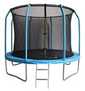 БАТУТ BONDY SPORT 8FT с сеткой и лестницей (синий)