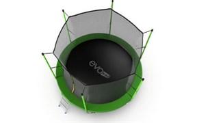 EVO JUMP Internal 10ft Green Батут с внутренней сеткой и лестницей диаметр 10ft зеленый