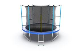 EVO JUMP Internal 10ft Blue Батут с внутренней сеткой и лестницей диаметр 10ft синий