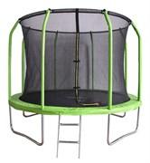 БАТУТ BONDY SPORT 10FT с сеткой и лестницей (зеленый)