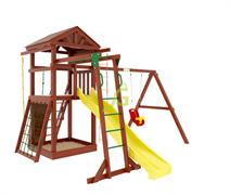 Детский игровой комплекс IgraGrad Панда Фани Gride с рукоходом