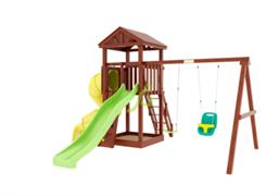 Детский игровой комплекс IgraGrad Панда Фани с винтовой трубой