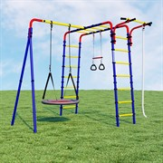 Детский спортивный комплекс для дачи ROMANA Веселая лужайка-3