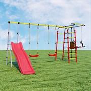 Детский спортивный комплекс для дачи ROMANA Богатырь Плюс-2