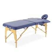 Массажный стол складной деревянный Med-Mos JF-AY01 2-х секционный (МСТ-003Л)
