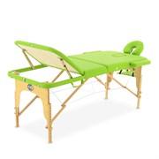 Массажный стол складной деревянный Med-Mos JF-AY01 3-х секционный М/К (МСТ-103Л)